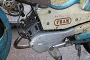 Moped close-up